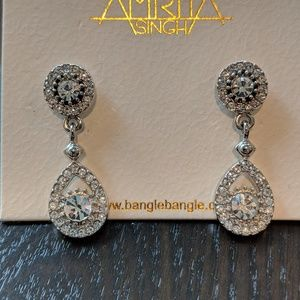 Amrita Singh teardrop earrings